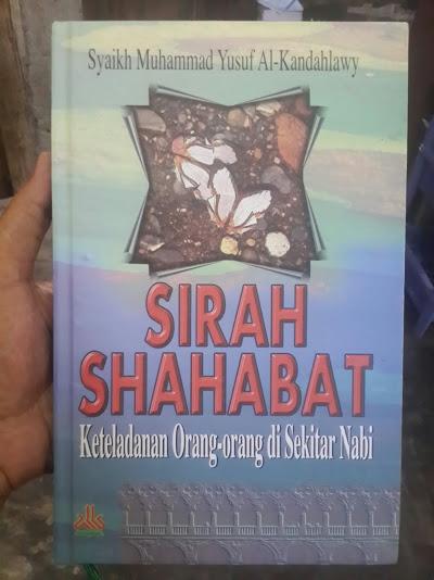 Buku Sirah Shahabat Keteladanan Orang Di Sekitar Nabi Cover