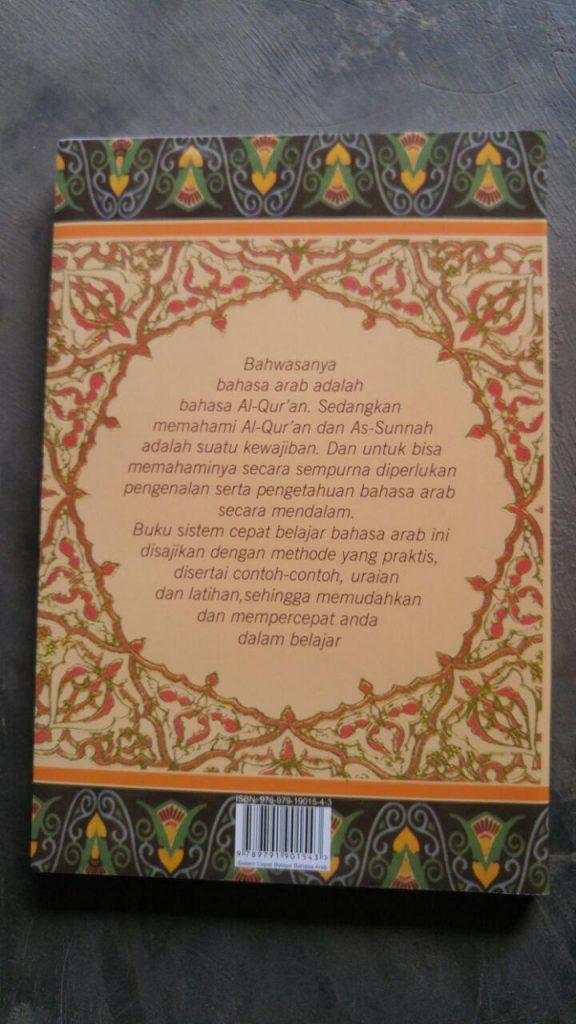 Buku Sistem Cepat Belajar Bahasa Arab cover 2