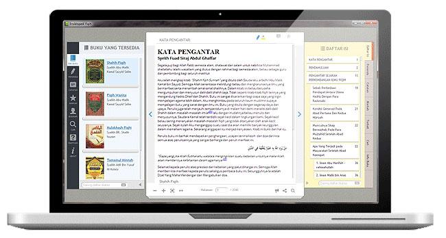 Software Ensiklopedi Fiqih Tampilan