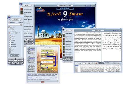 Aplikasi CD Ensiklopedi Hadits Kitab 9 Imam 1