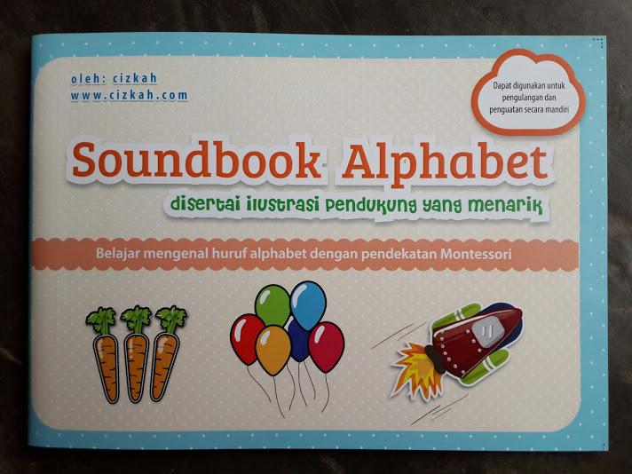 Buku Anak Soundbook Alphabet Disertai Ilustrasi Pendukung Cover