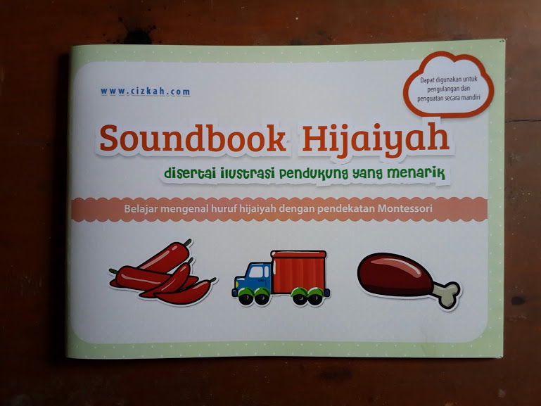 Buku Anak Soundbook Hijaiyah Disertai Ilustrasi Pendukung Cover