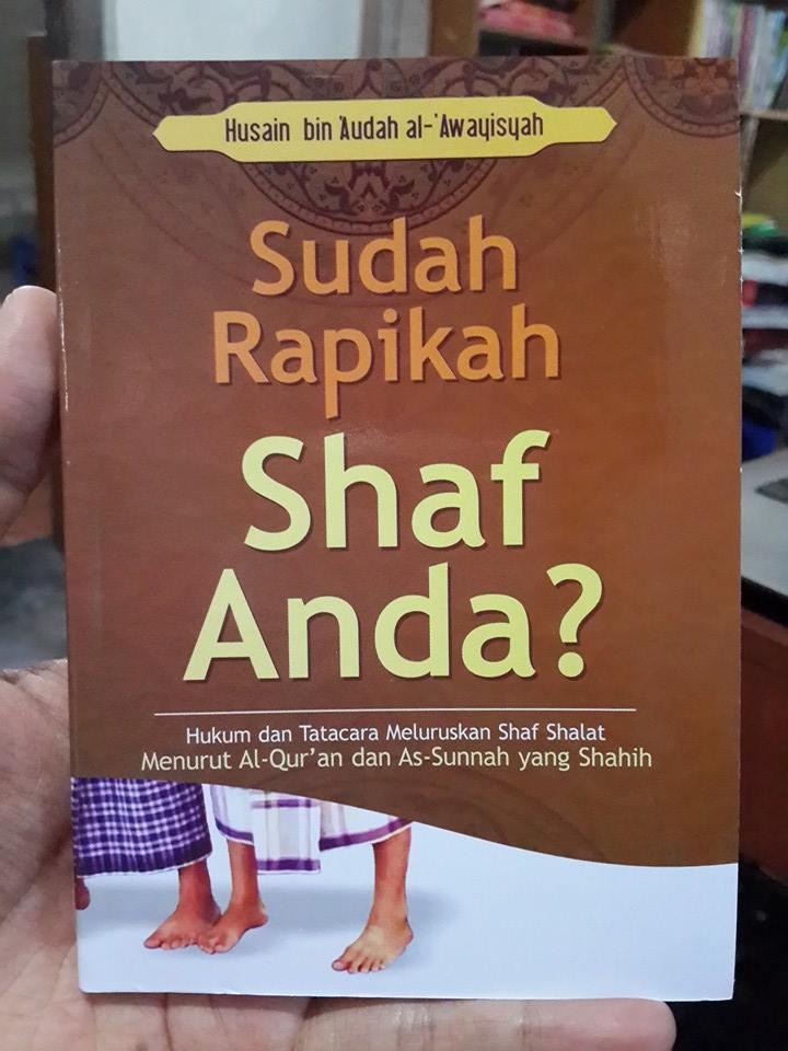 Buku Saku Sudah Rapikan Shaf Shalat Anda Cover