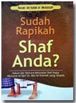 Buku Saku Sudah Rapikan Shaf Shalat Anda