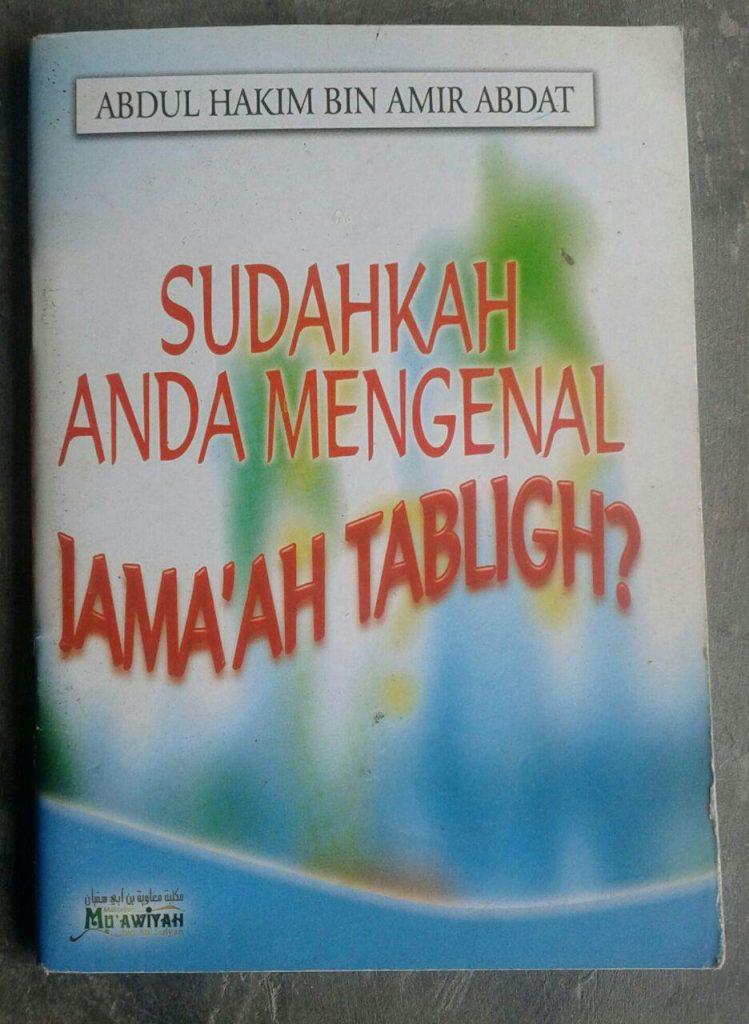 Buku Saku Sudahkah Anda Mengenal Jamaah Tabligh cover