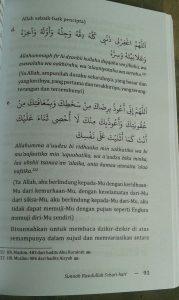 Buku Sunnah Rasulullah Sehari Hari isi 4