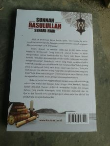 Buku Sunnah Rasulullah Sehari Hari cover