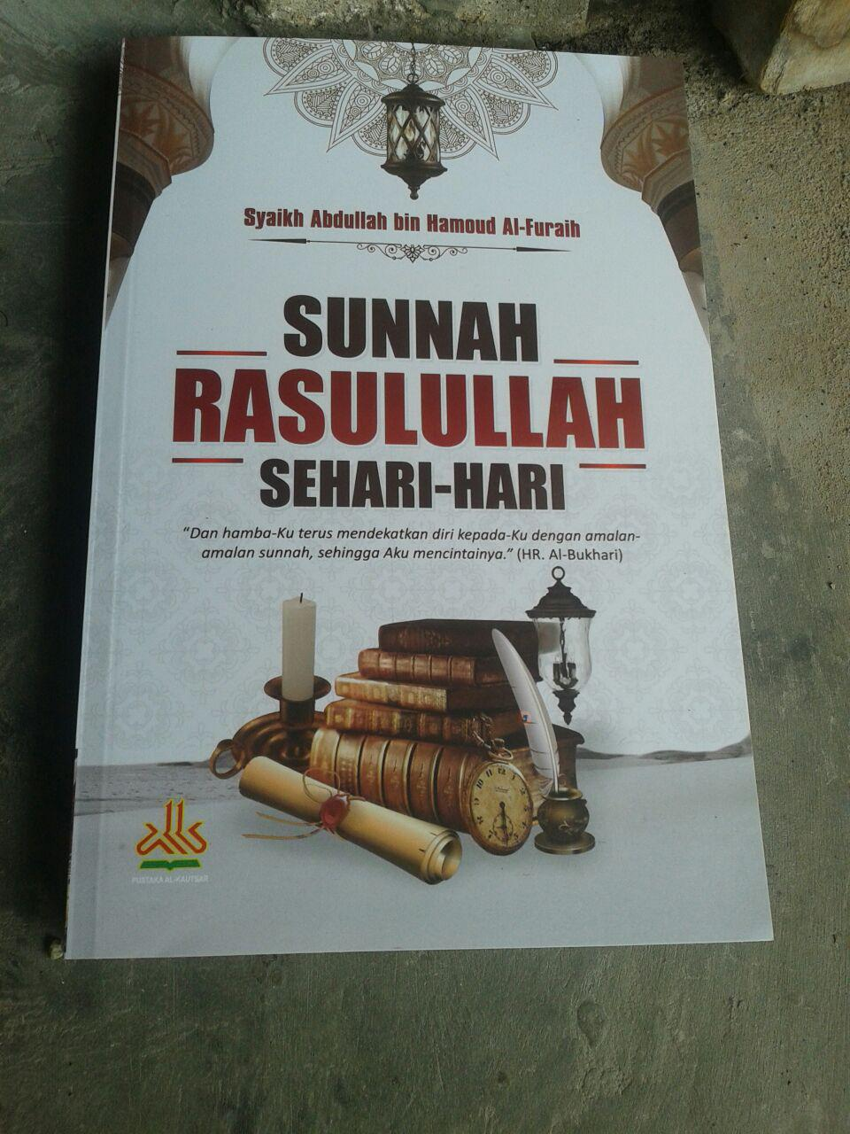 Buku Sunnah Rasulullah Sehari Hari cover 2
