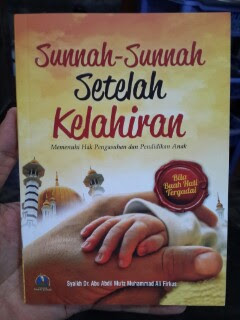 Buku Sunnah-Sunnah Setelah Kelahiran Cover