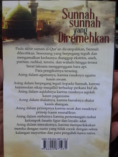 Buku Saku Sunnah Sunnah Yang Diremehkan Cover 2