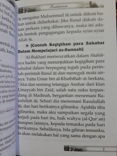 Buku Saku Sunnah Sunnah Yang Diremehkan Isi