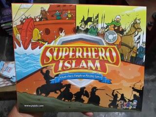 Buku Anak Superhero Islam Kisah Para Panglima Perang Islam Cover