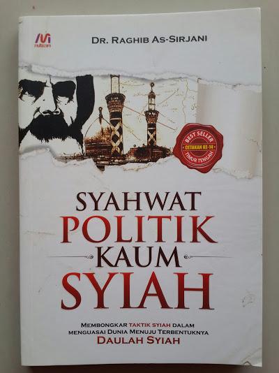 Buku Syahwat Politik Kaum Syiah Cover