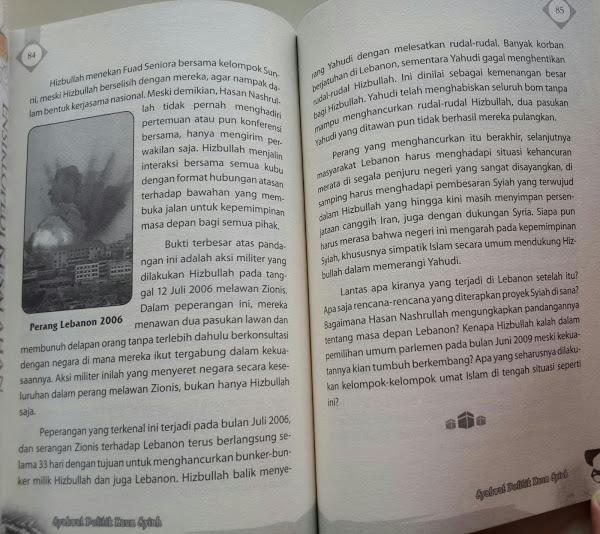 Buku Syahwat Politik Kaum Syiah Isi
