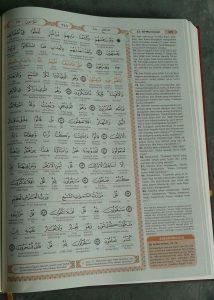 Al-Qur'an Terjemah Perkata Syamil Tipe Hijaz Klasik isi