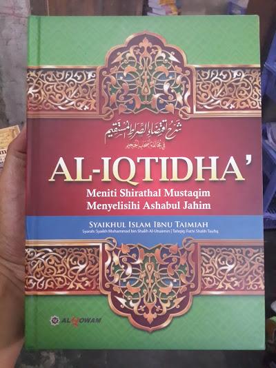 Buku Syarah Al-Iqtidha Meniti Shirathal Mustaqim Cover