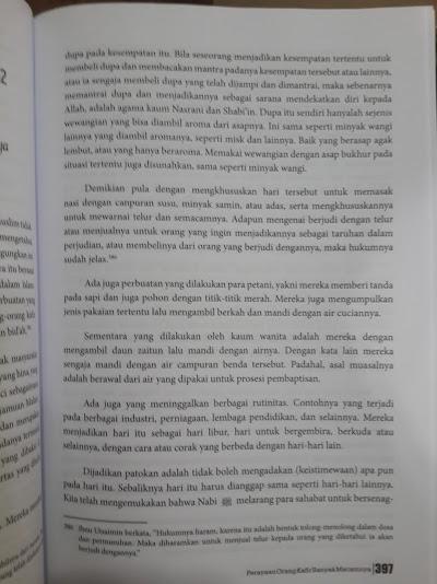 Buku Syarah Al-Iqtidha Meniti Shirathal Mustaqim Isi
