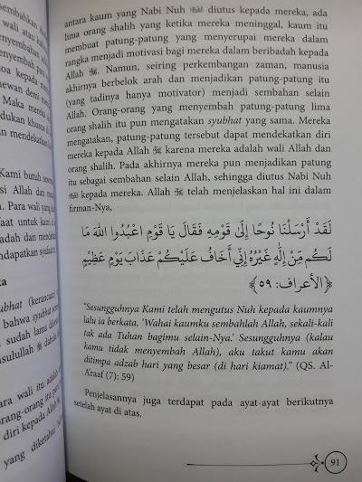 Buku Syarah al-Qawa'id al-Arba' Isi
