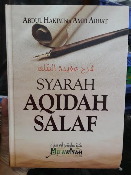 Buku Syarah Aqidah Salaf Cover