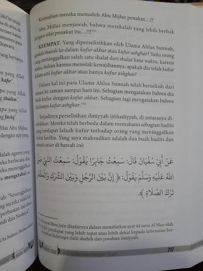 Buku Syarah Aqidah Salaf Isi
