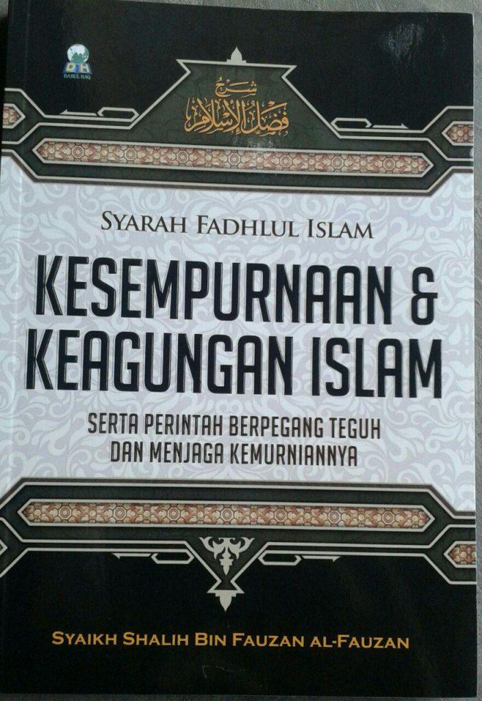 Buku Syarah Fadhlul Islam Kesempurnaan & Keagungan Islam cover 2