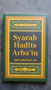 Buku Syarah Hadits Arba'in cover