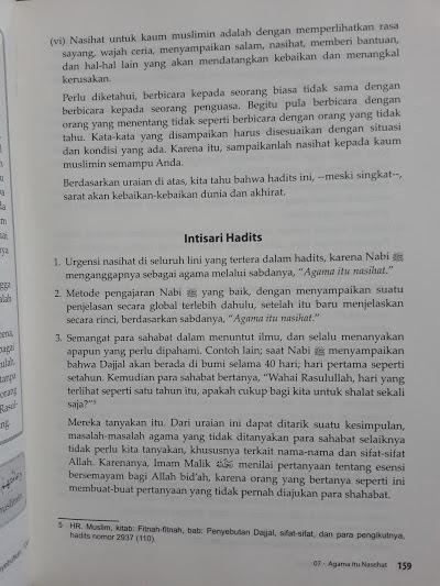 Buku Syarah Hadits Arbai'in Syaikh Al-Utsaimin Isi