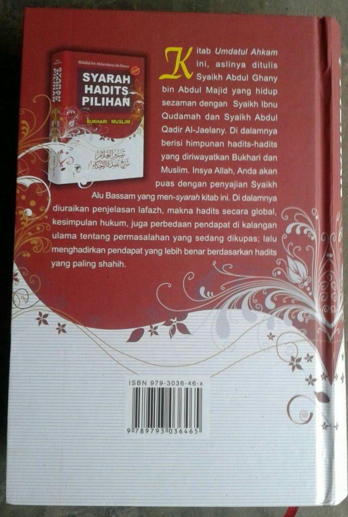 Buku Syarah Hadits Pilihan Bukhari Muslim cover