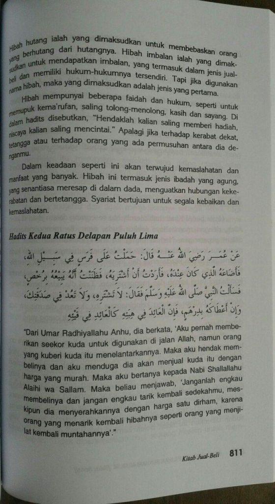 Buku Syarah Hadits Pilihan Bukhari Muslim isi 4