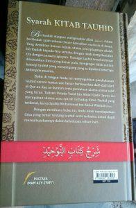 Buku Syarah Kitab Tauhid Memahami & Merealisasikan Tauhid cover 2