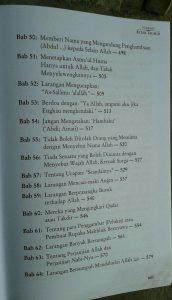 Buku Syarah Kitab Tauhid Memahami & Merealisasikan Tauhid isi