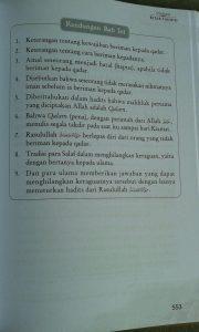 Buku Syarah Kitab Tauhid Memahami & Merealisasikan Tauhid isi 5