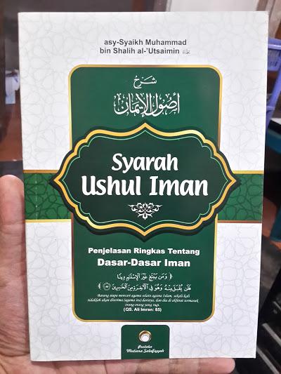 Buku Syarah Ushul Iman Penjelasan Ringkas Dasar Iman Cover