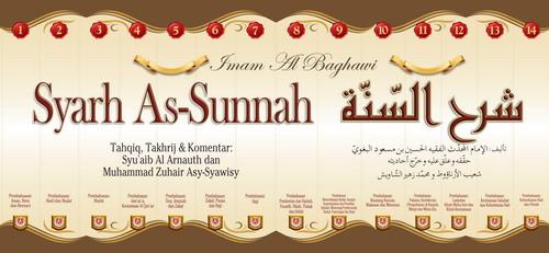 Buku Syarh As-Sunnah Imam Al-Baghowi Set