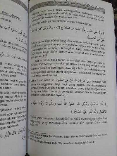 Buku Syarh Ats-Tsalatsatil Ushul Penjelasan 3 Landasan Pokok Isi
