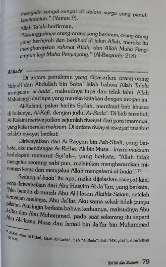 Buku Syiah Merajalela di Tengah Ahlus Sunnah Isi