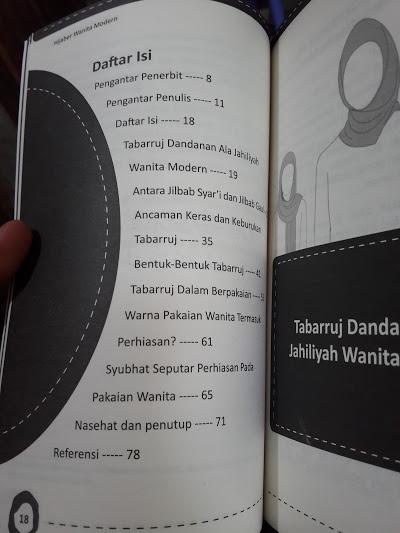 tabarruj-hijaber-wanita-modern-daftar-isi