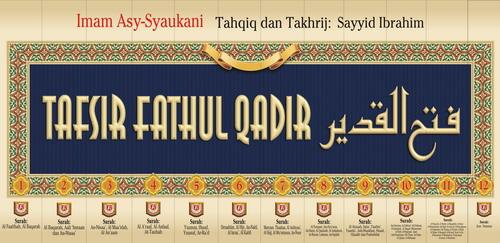 Buku Tafsir Fathul Qadir Set