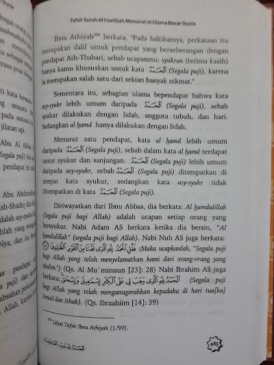Buku Tafsir Surah Al Faatihah Menurut 10 Ulama Besar Dunia Isi