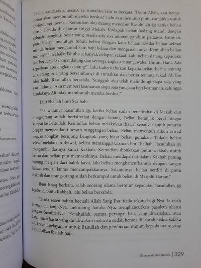 Buku Tahdzib Sirah Ibnu Hisyam Isi