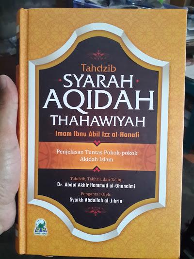 Buku Tahdzib Syarah Aqidah Thahawiyah Cover