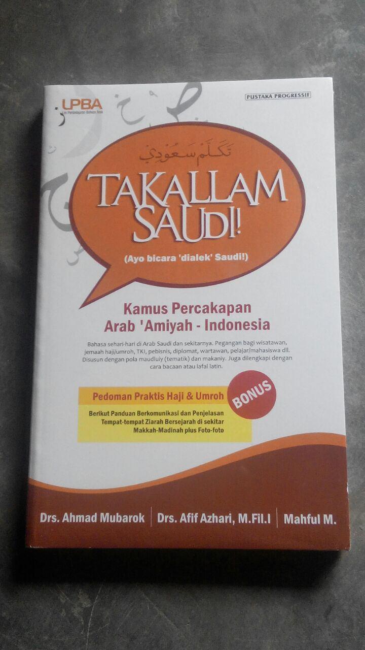 Buku Takallam Saudi! Ayo Bicara Dialek Saudi cover