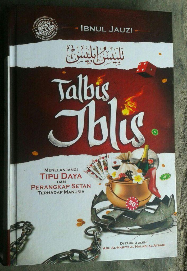 Buku Talbis Iblis Menelanjangi Tipu Daya & Perangkap Setancover 2