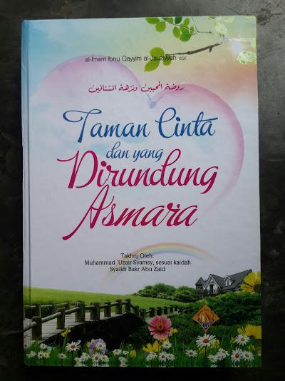Buku Taman Cinta Dan Yang Dirundung Asmara Cover
