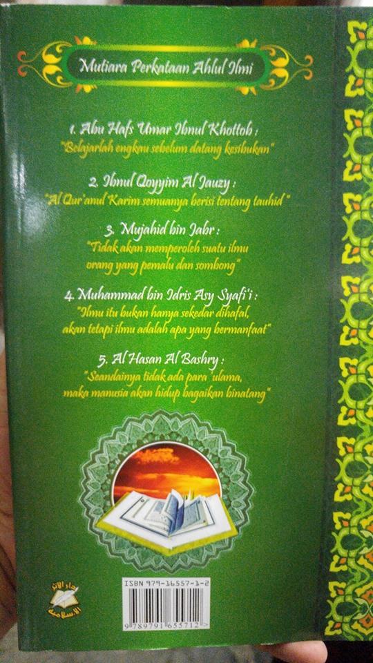 Buku Tamhid Iqro Qiroaty Cara Cepat Belajar Al-Qur'an cover 2