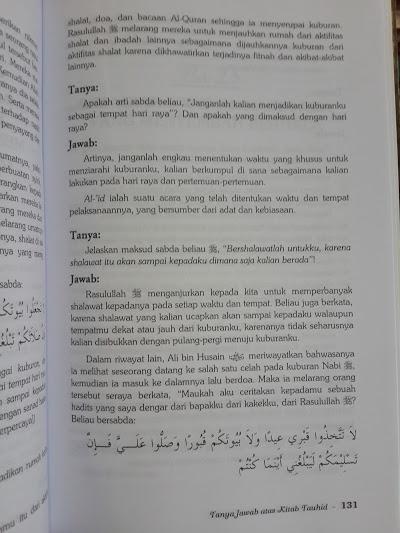 Buku Tanya Jawab Atas Kitab Tauhid Isi