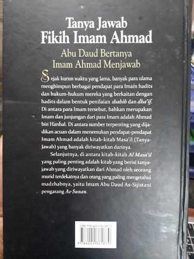 Buku Tanya Jawab Fikih Imam Ahmad Cover 2