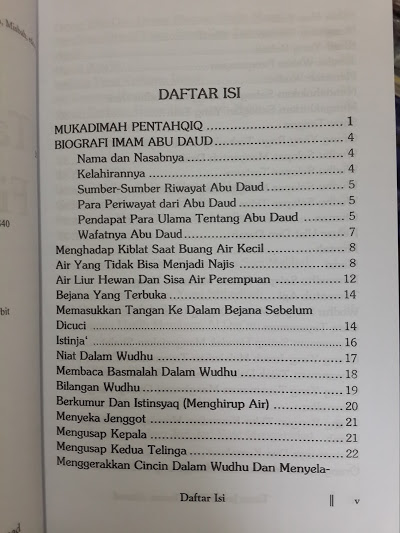 Buku Tanya Jawab Fikih Imam Ahmad Daftar Isi
