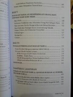 Buku Tarekat Tasawuf Tahlilan Dan Maulidan Daftar Isi