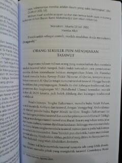 Buku Tarekat Tasawuf Tahlilan Dan Maulidan Isi